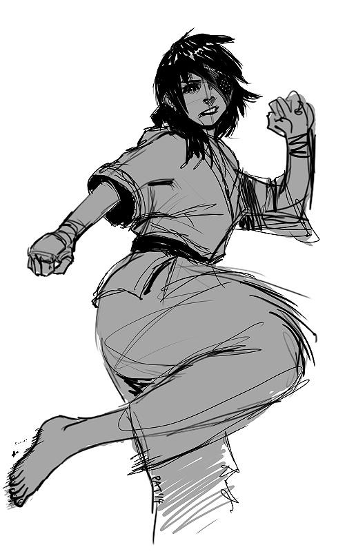 karate_girl