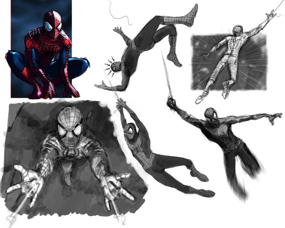 spiderman_sketches